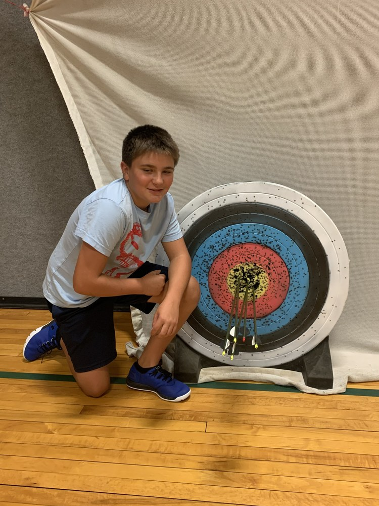 Archery has begun with a Perfect Score!