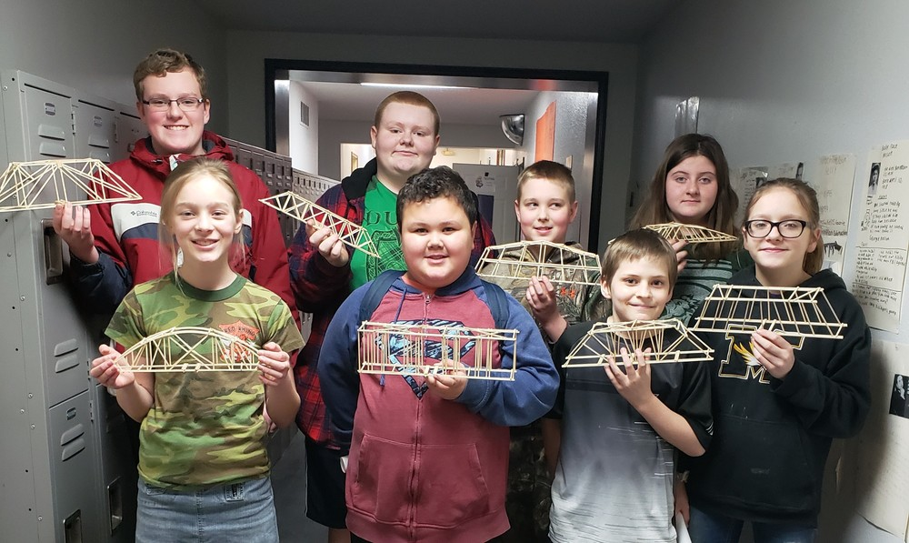 Mr. Enslow's S.T.E.A.M. Class to Participate in Model Bridge Contest